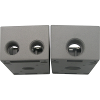 Meba  Aluminum Weatherproof Electrical Device Box FSB50/75-4