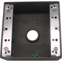 Meba Cast Device Boxes - Outlet Boxes TGB50/75-3