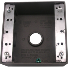Meba Cast Device Boxes – Outlet Boxes TGB50/75-3