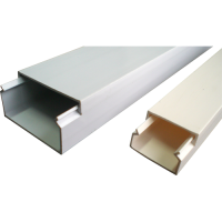 Plastic trunking electrical accessories