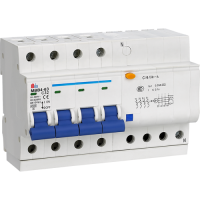 Meba residual current breaker with overload protection consumer unit MBB41