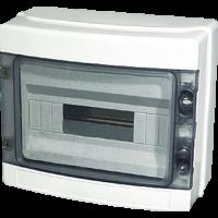 MEBA Waterproof Europe type Plastic Distribution Box  IP65 HA-12ways