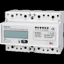 Meba-three phase electronic din rail active KWH meter-MB021GC