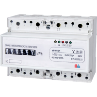 Meba-din rail mounted power meters-MB021DF