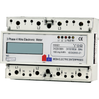 Meba-din rail power meter -MB021