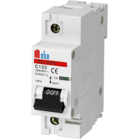 Meba Main switch NC100H 1P