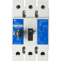 Meba electrical mccb circuit breaker c series s type with lock GWF 125S