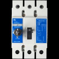 Meba electrical mccb circuit breaker c series s type with lock GWF 125S