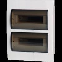 Meba Plastic Electronic Enclosures TSM-24ways Flush
