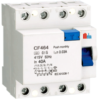 Meba Earth Leakage Circuit Breaker CF-464