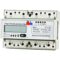 Meba-electromechanical multi rate meter -MB041