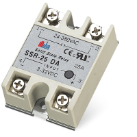 Meba Single phase AC Solid State Relay SSR-25DA
