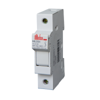 Electrical fuses MBLS501 from Meba