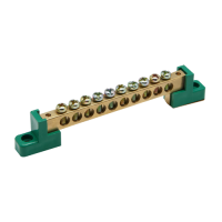 Meba Brass Terminal Blocks MBCT010H2G