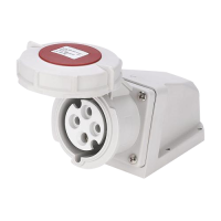 Meba industrial sockets MN3312