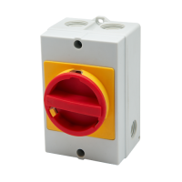 Meba waterproof box with safety isolating switch MBCS