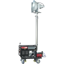 Meba-remote control gasoline generator lighting tower-ZW3500