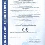 Meba Mini Circuit Breaker CE Certificate