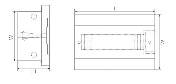 LGD-12ways(N) Dimension