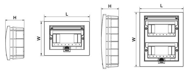 MB-AF Series Dimension