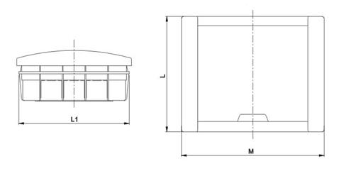 MB-LF Series Dimension