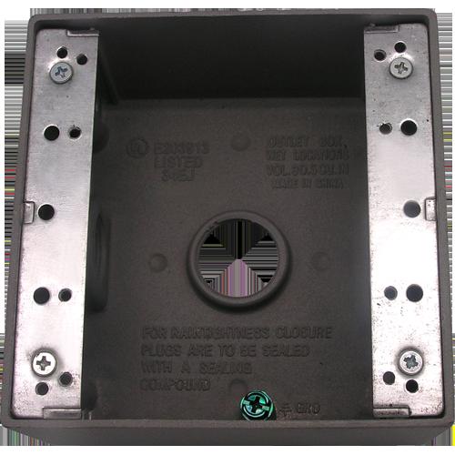Meba weatherproof outlet box TGB50753