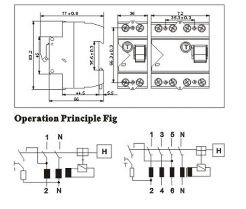 PF-4P Dimension