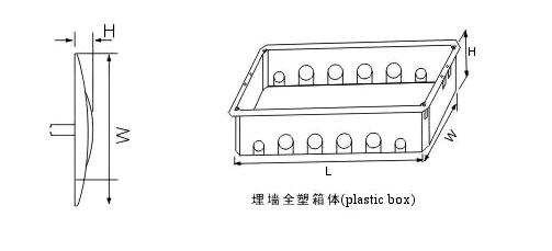 TSM Flush Series Dark Plastic Crates Against the Wall-size