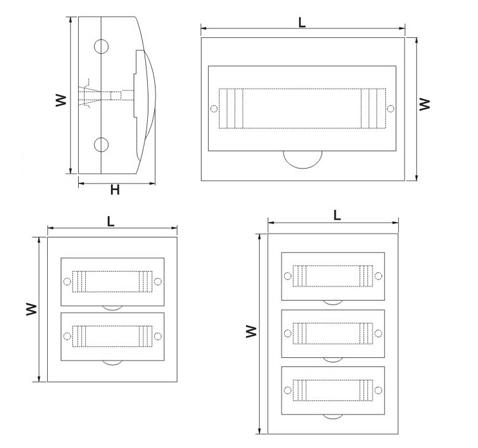 TSM Surface Series Dimension