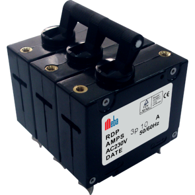Meba RDP30-3P-10A over current circuit breker