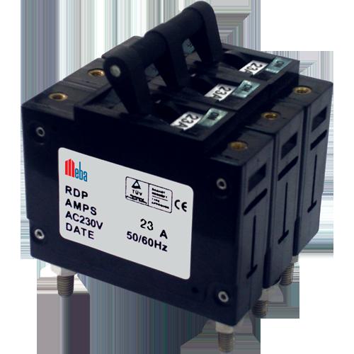 Meba RDP50 3P 23A circuit breaker
