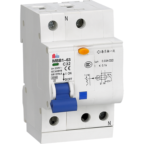 Meba Residual Current Breaker Rcbo Consumer Unit Mbb3 2 on circuit breaker switch