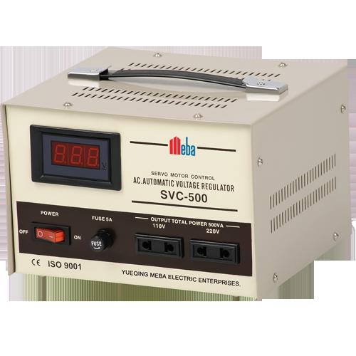 meba-ac-power-voltage-regulator-svc-e-500va