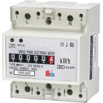 Meba-counter single phase electronic din rail active kwh meter-MB011