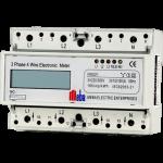 Meba-din rail power meter-MB021