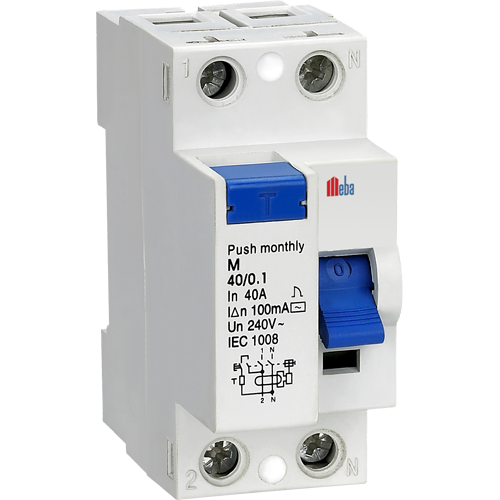 meba earth leakage circuit breakers M