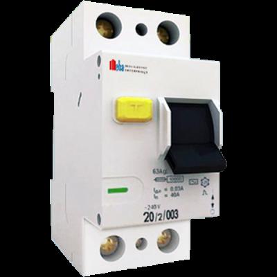 meba elcb circuit breaker OLL7-3-2P