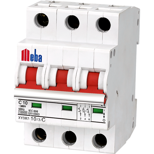 Meba electrical circuit breaker XYDB7