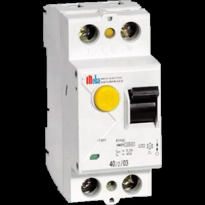 meba electrical rccb PF-2P