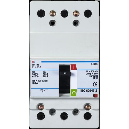 meba molded case circuit breakers H125h