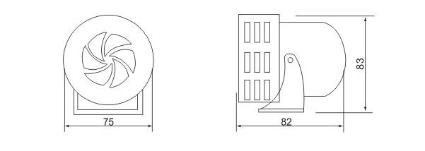 meba-ms190-motor-siren-shape