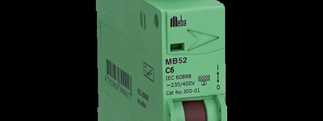 Meba rating of mcb MB52