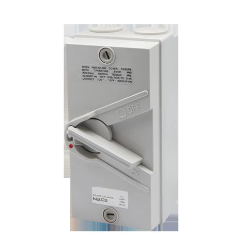 Meba isolation switch MBI20