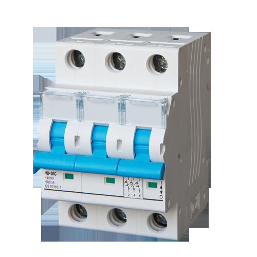 Meba mcb plug in circuit breaker MB436C