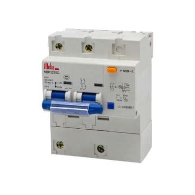Meba residual current breakers with overload protection rcbo rcd MBR3210C