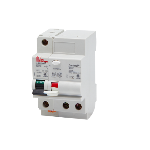 Meba residual current circuit breakers with overcurrent protection RCBOs MBR516C