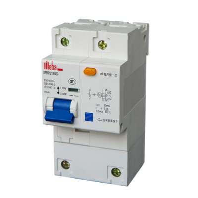 Meba residual current circuit breakers with overcurrent protection rccb rcbo MBR3110C