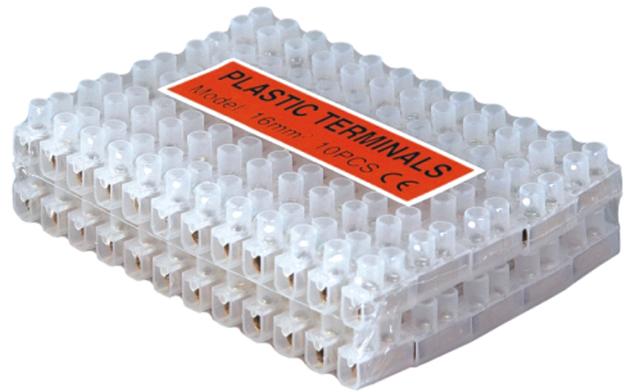 U type Plastic Terminals Packing Image