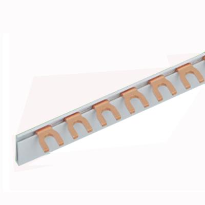 Meba fork type copper busbar 1P