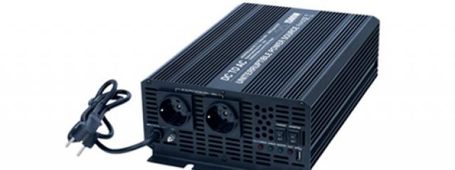 meba power inverter with charger dc24v UPS1500